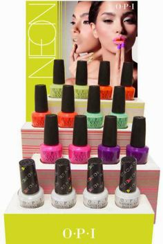 OPI // Neon Collection 2014... I need this!!!!!
