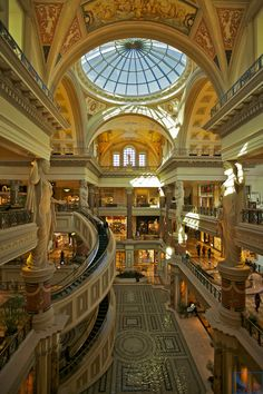 Inside the Forum Shops at Caeser's, Las Vegas.I would like to visit this place one day.Please check out my website thanks. www.photopix.co.nz