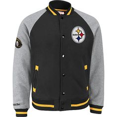 Mitchell & Ness Pittsburgh Steelers Competitor Jacket