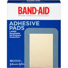 $2.73 Band-Aid Brand Tough-Strips Adhesive Bandages, Extra Large, 10 Count