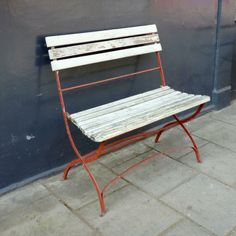Vintage garden love seat for sale on SalvoWEB from Architectural Forum in London [Salvo code