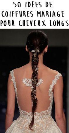 Tout aussi important que votre robe de mariée : votre coiffure de mariage ! On craque pour la tresse.