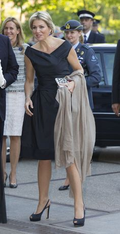 Queen Maxima of The Netherlands attends the opening of the Holland Festival at the Westergasfabriek  on 1st June 2013 in Amsterdam, Netherlands