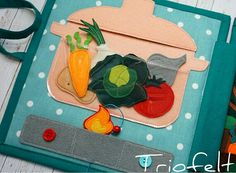 Felt food - cooking page
