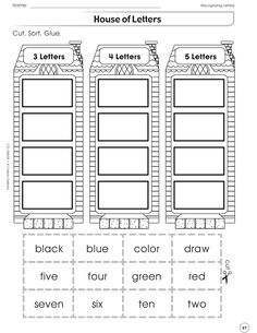 Printables Carson-dellosa Worksheets the happy or sad activity sheet helps student discern scenarios house of letters page students practice cutting sorting and pasting