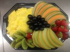 Früchteplatte