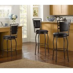 Shop for Linon Adjustable Bar Stools (Set of 3). Get free shipping at Overstock.com - Your Online Furniture Outlet Store! Get 5% in rewards with Club O! - 16428182