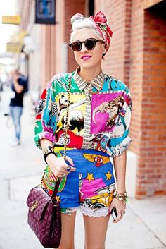 Today is #summer Pop Art #outfits #inspiration