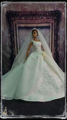 """PKPP-387 Tyler Tonner FR16 Wedding Gown dress outfit dolls 16"""""""
