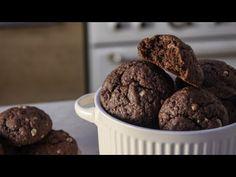 Εύκολα Μαλακά Μπισκότα σε 20' - Easy Soft Cookies - YouTube Sweets Recipes, Desserts, Greek Recipes, Cookies, Feta, Muffins, Snacks, Chocolate, Breakfast