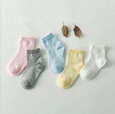 5 Pairs Pack Summer Socks