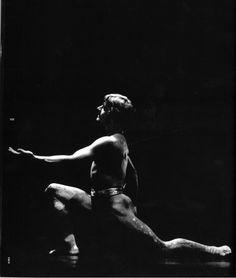 Mikhail Baryshnikov in 'Airs'. Music by G.F. Handel, choreography by Paul Taylor. The Paul Taylor Dance Company, 1979