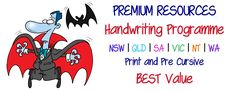 ABC Teaching and Educational Resources Visible Learning, Letter Formation, Handwriting Practice, Primary School, Classroom Management, Teaching Resources, Literacy, Printable, Australia