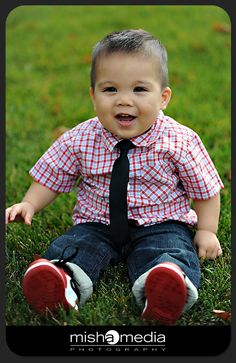 I have a feeling that if my child is anything like his father he will look just like this but with curly hair. Whatcha think?