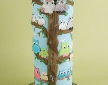 'Owl Wedding Cake' (Full)