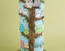 'Owl Wedding Cake' (Full)