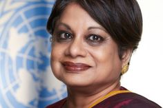Radhika Coomaraswamy  is  a former Under-Secretary-General of the UN, Special Representative for Children and Armed Conflict. She is a  lawyer and formerly the Chairperson of the Sri Lanka Human Rights Commission. She is also an internationally known human rights advocate on Violence against Women from 1994-2003.