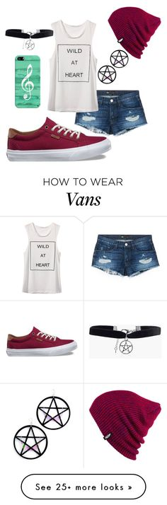 """karis"" by ayelencruzaguillon on Polyvore featuring 3x1, Vans, Casetify, Boohoo and Marina Fini"