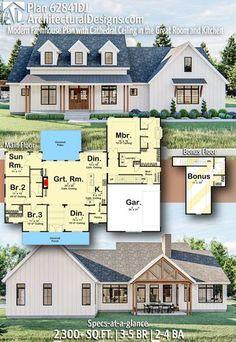 4 Bedroom House Plans, Basement House Plans, New House Plans, Dream House Plans, Garage Plans, Floor Plan With Basement, Large House Plans, Square House Plans, Large Floor Plans