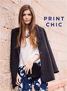 #print #chic #bloggerstyle #simpleetchic #bloggeroutfit