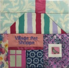 Splendid Sampler 2016 – Block 9 - Local Quilt Shop - Colourway 1