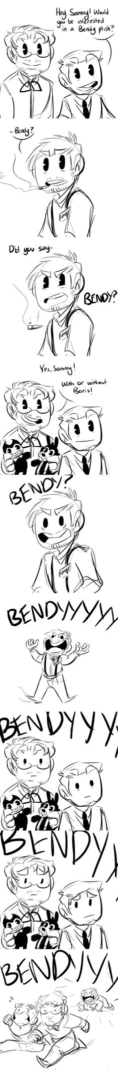 Bendy and The Ink Machine Comic - Sales Pitch (Feat. Reece Bridger) by Asktheinkdemon