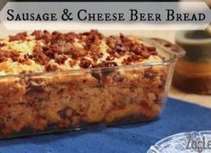 Sausage And Cheese Beer Bread
