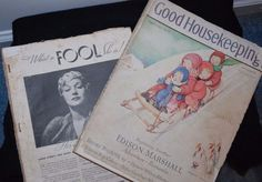 2 1934 Good House Keeping Magazines Vintage Advertising Ads