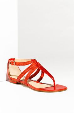 Alexandre Birman - Braided Thong Sandal