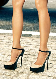 Jimmy Choo. I'd break an ankle..