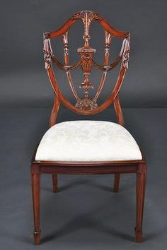 GORGEOUS SET 10 MAHOGANY PRINCE OF WALES STYLE DINING CHAIRS 2 ARM 8 SIDE NEW