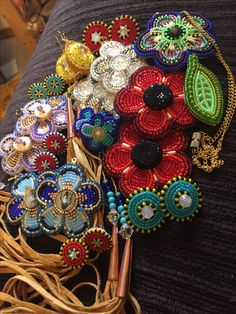 Stocking my Etsy in a few hours, happy Friday the :) ❤️❄️ The next sale will be all poppies & I'll try to have it up ASAP so I can ship it out sooner Happy Friday The 13th, Next Sale, Ornament Wreath, Beaded Embroidery, Beadwork, Poppies, Beads, Create, Flowers