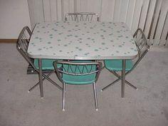 84 best very vtg kitchen tableschairs kid s images on pinterest