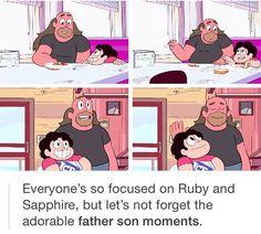 Greg and Steven, Steven Universe