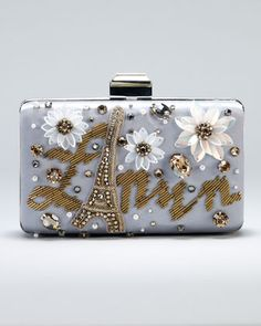 Sea Breeze Logo Minaudiere by Lanvin at Neiman Marcus.