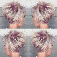 12 wunderschöne Frisuren von Silber bis Grau. Die Trendfarbe wirkt total cool ... - Neue Frisur