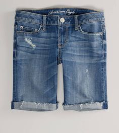 skinny bermuda shorts...just bought a pair and i love them :)