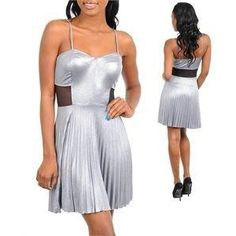 Silver Shimmer Dress NYE