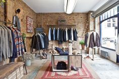 Anthem store by Fred Rigby, London store design