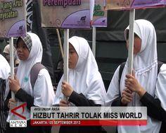 Hizbut Tahrir Tolak Miss World - Antara News Video