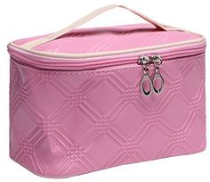 Makeup Train Case Cosmetic Bag Travel Storage Case Small ... http://www.amazon.com/dp/B019LE2J9A/ref=cm_sw_r_pi_dp_tSLlxb0DVW881