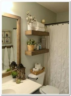 Indian bathroom decor toilet room decoration best toilet room decor ideas on half bath decor classy . Decor, Rustic Wood Floating Shelves, Diy Bathroom, Bathroom Decor, Shelves, Diy Home Decor, Bathroom Furniture, Home Decor, Half Bath Decor