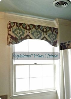 Diy Window Valance New Life On Mars How to Make A Valance Upholstered Valance Tutorial. Home Diy, Diy Window Treatments, Master Bathroom Plans, Valance Tutorial, Diy Window, Burlap Window Treatments, Home Projects, Home Decor, Valance