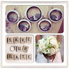 Bridal Package featuring Origami Owl. Contact Ashley for her to have your Bridal Package Ready for You