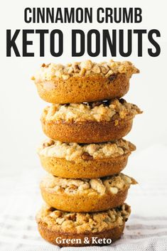 Try this keto cinnamon sugar donuts - they're a perfect keto breakfast for a weekend morning! What makes these cinnamon crumb cake keto donuts so special? The fact that they are totally gluten-free and low-carb! Donuts Keto, Keto Pancakes, Food Network, Cinnamon Crumb Cake, Low Carb Donut, Keto Approved Foods, Keto Diet Vegetables, Ketogenic Diet Starting, Keto Diet Benefits