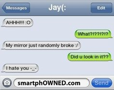 Page 9 - Autocorrect Fails and Funny Text Messages - SmartphOWNED - Favorites - Funny Texts Jokes, Text Jokes, Cute Texts, Funny Video Memes, Really Funny Memes, Stupid Funny Memes, Funny Laugh, Funny Stuff, Funny Things
