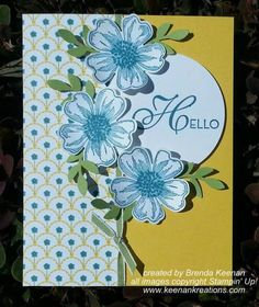 Flower Shop Hello by bkeenan256 - Cards and Paper Crafts at Splitcoaststampers