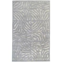 Modern Classics New Zealand Wool Area Rug in Dove Grey design by Candice Olson