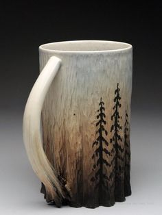 Dow Redcorn Mug at MudFire Gallery