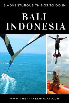 Read about 9 of the best sporty and adventurous things to do in Bali. It is truly fascinating. Be captivated by its nature and culture. via @thetravelninjas